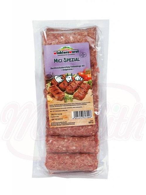 Mичи (румынские колбаски) из говядины и свинины с чесноком 800g
