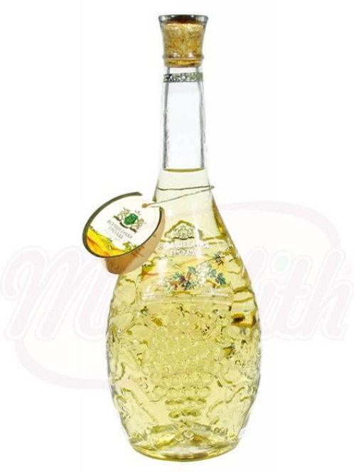 """Белое вино """"Волшебная гроздь"""" полусладкое 12,5% 1l"""