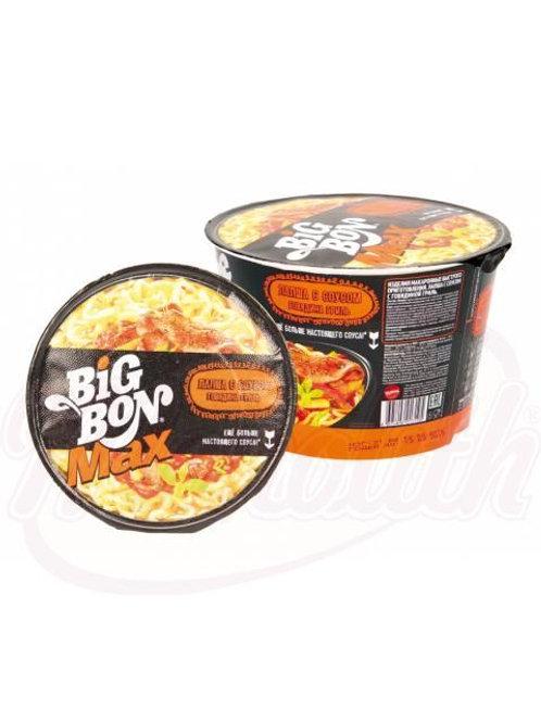 """Лапша с соусом со вкусом говядины """"Биг-Бон"""" 95g"""