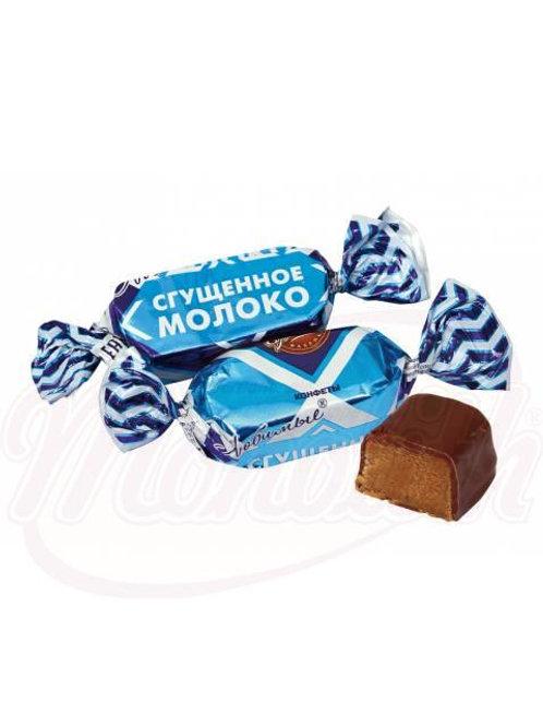 """***Помадные конфеты """"Любимые"""" со сгущенным молоком100g"""