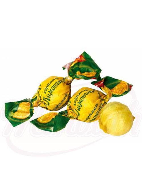 """Карамель """"Лимончики"""" со вкусом лимона 100g"""