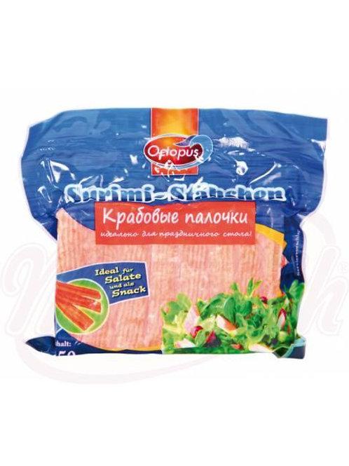 Палочки сурими (имитат, приготовлений из мышечной ткани рыб), замороженные 250g