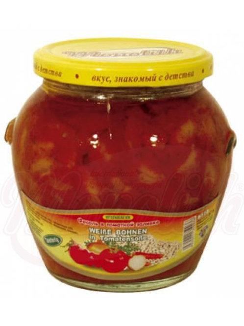 Фасоль в томатной заливке 575g