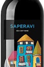 Вино красное сухое Саперави  12% 0,75 л