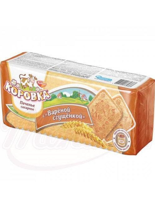 """Печенье """"Коровка"""" со вкусом варёной сгущёнки 375g"""