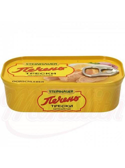 ***Печень трески натуральная 120g