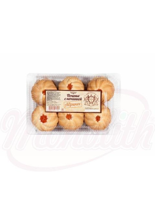 """***Печенье с начинкой """"Абрикос"""" 500g"""