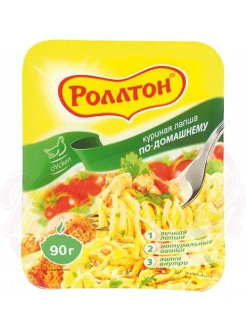 """Куриная лапша по домашнему """"Роллтон"""" 90g"""