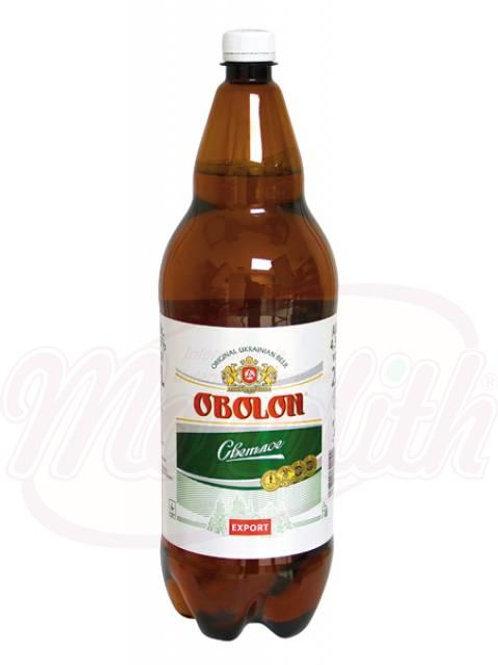 """Пиво """"Оболонь"""" светлое пастеризованное 4,5% алк. 2l"""