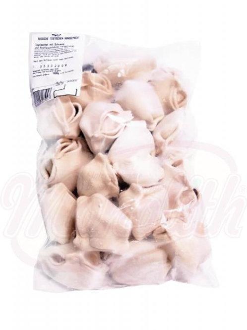 Манты из свинины и говядины замороженные 1kg