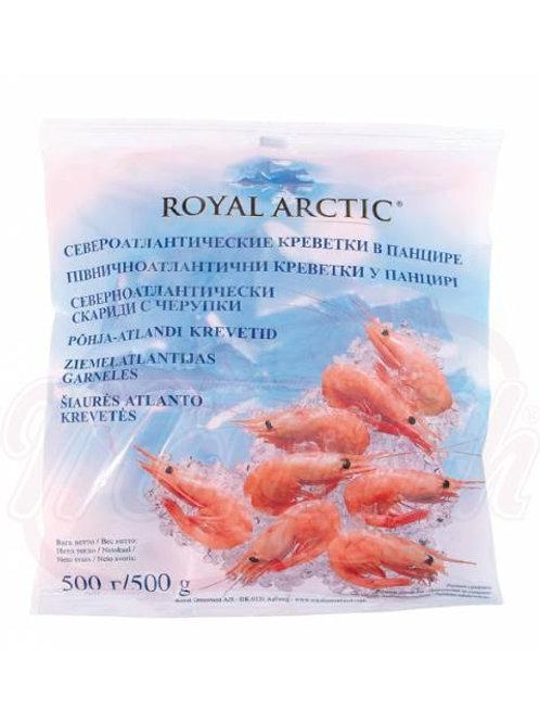 Креветки расфасованные замороженные 500g