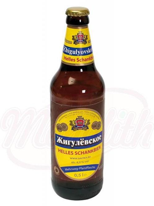 """Пиво """"Жигулёвское"""", 4,0% алк. 0.47l"""