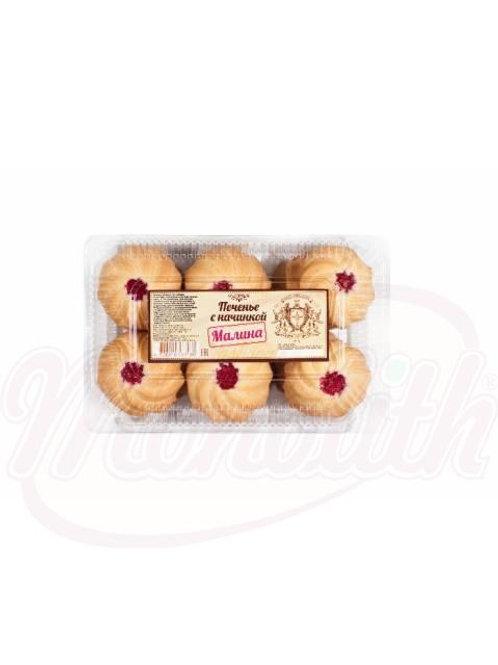 """Печенье с начинкой """"Малина"""" 500g"""