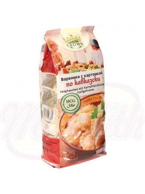 Вареники с картошкой, продукт глубокой заморозки 1kg