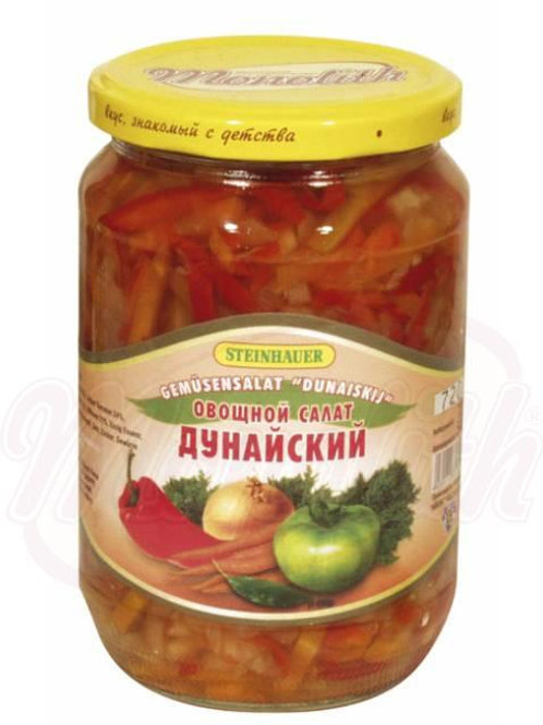 """***Овощной салат """"Дунайский""""670g box-6st"""
