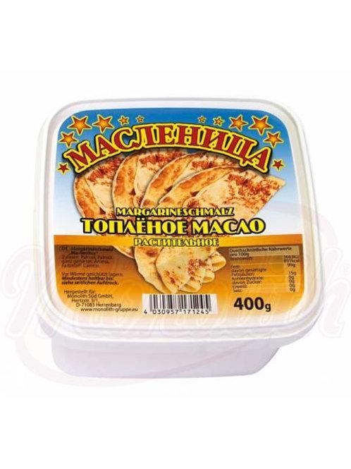 """Топлёный масло растительное """"Масленица""""400g"""