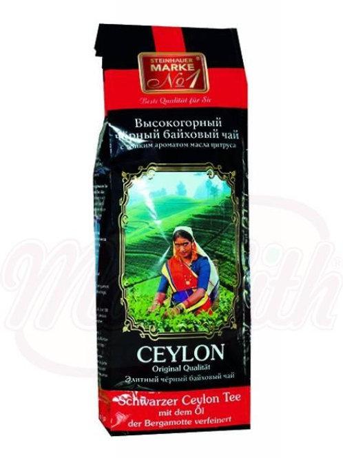 Чёрный цейлонский чай, ароматизирован маслами бергамота 500g