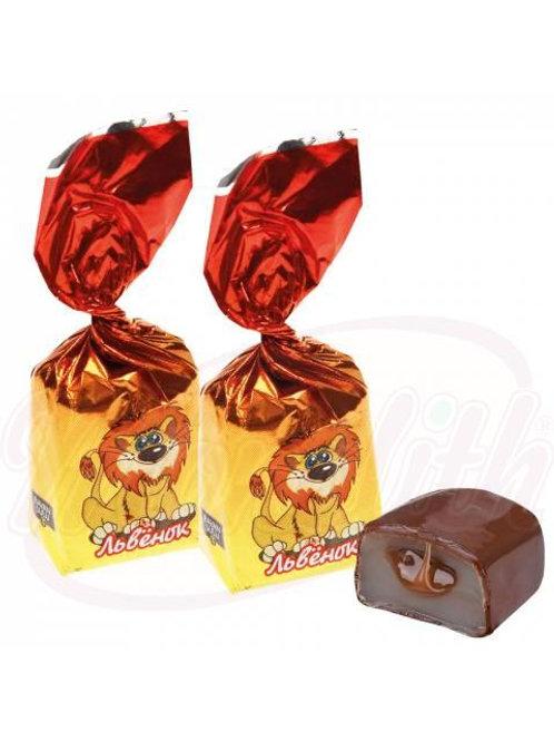 """Шоколадные конфеты """"BS Львенок"""" 100g"""