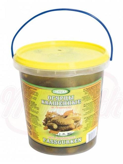 Огурцы квашенные по-домашнему 1kg