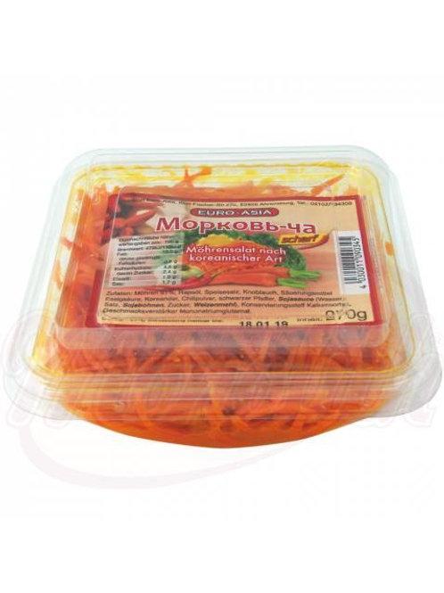Морковный салат по корейски, острый