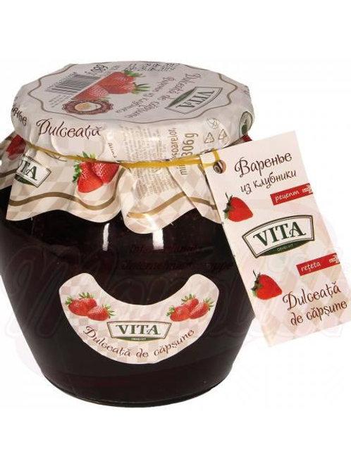 ***Варенье из клубники ТМ «Vita»  680g box-6stuk