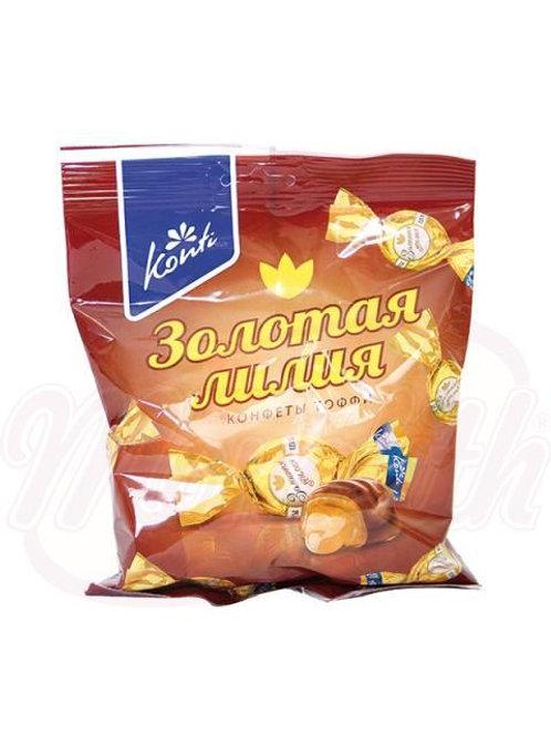 """Конфеты в шоколадной глазури """"Золотая лилия"""" 200g"""