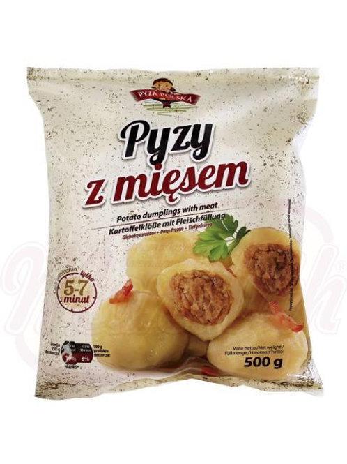 Картофельные клецки с мясом 20% начинки - замороженные 500g