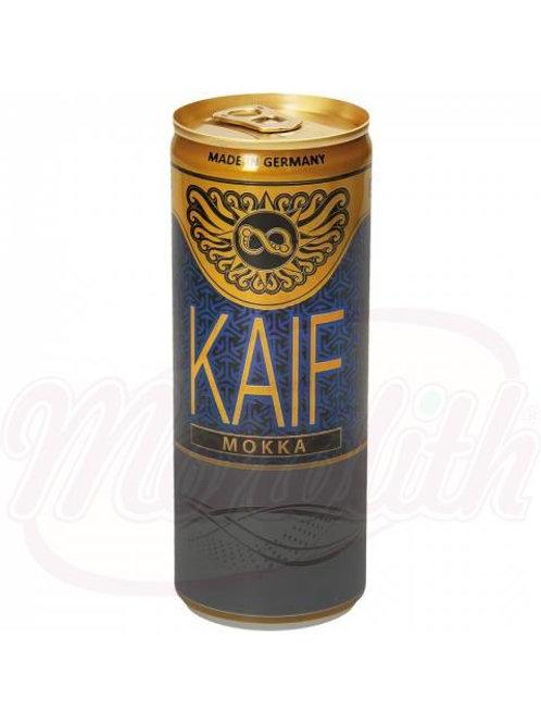 """Безалкогольный напиток с кофеином """"Kaif Mokka"""" со вкусом мокко 0.250ml"""