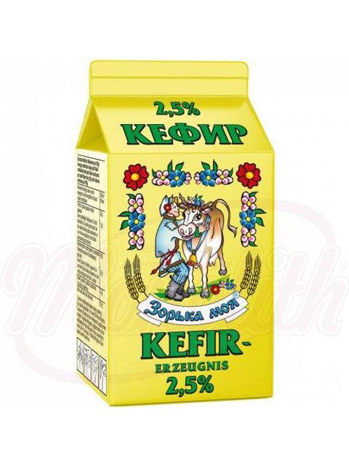 ***Кефир мягкий 2,5% жира