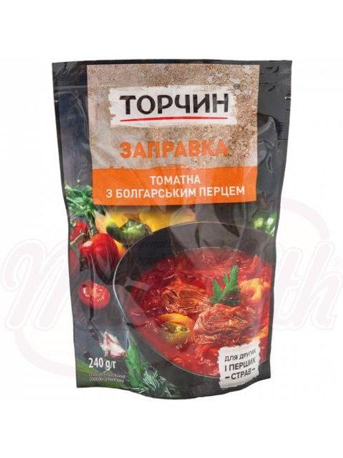 Заправка для борща томатная с болгарским перцем215g