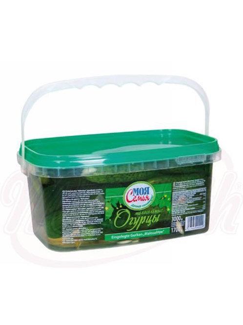 Огурцы малосольные 3kg