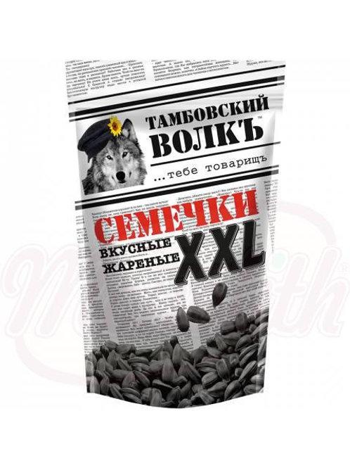 """Семечки XXL черные жареные """"Тамбовский волкъ""""400g"""