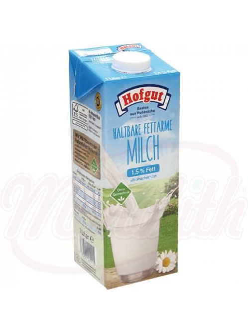 Молоко 1,5% жирности1l