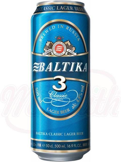 """Пиво """"Балтика №3"""" 4,8% алк. 450ml"""