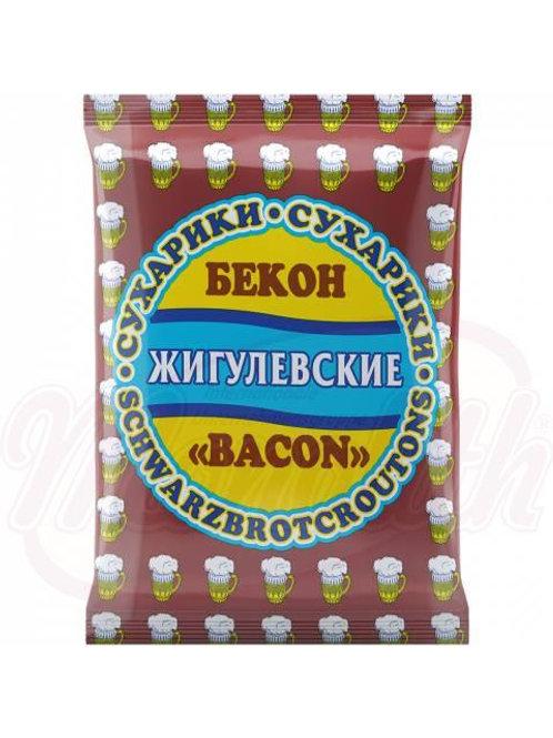 Жигулёвские сухарики со вкусом бекона