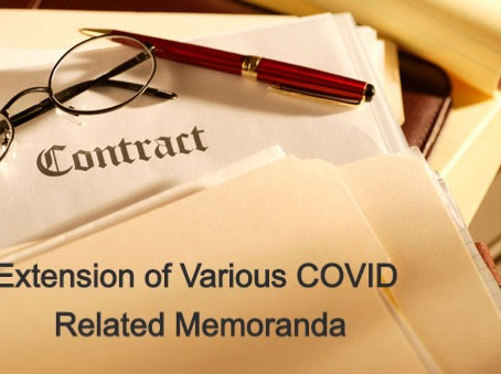 NPMHU and USPS Agree to Extension of Various COVID Related Memoranda