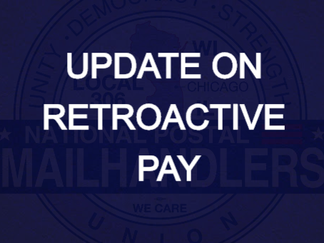 UPDATE ON RETROACTIVE PAY