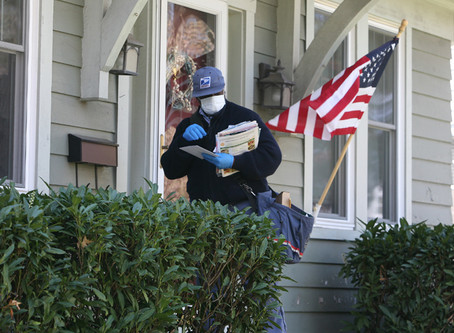USPS issues Mandatory Stand-Up Talk on Face Covering and mask update