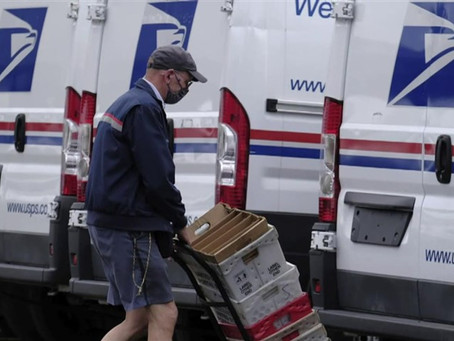 House Passes Bill to Reverse Postal Service Changes, Infuse $25B in Emergency Funds