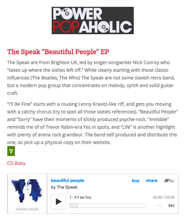 The Speak review on power propaholic.com