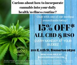 Pics   Budeez   Cannabis Retailer   Rec 21 MMJ   2111 E 11th Bremerton