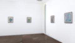 Art exhibition in gallery
