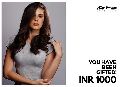 AlanTruman Gift Card INR 1000
