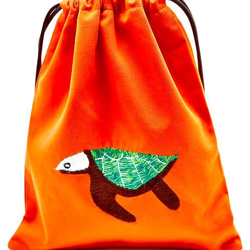polaw (Ocean) Wet Bikini Bag-Sea Turtle