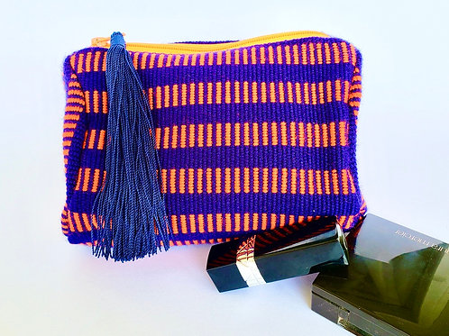 kuhkay (Firefly) Cosmetic Bag (Royal Blue/Orange)