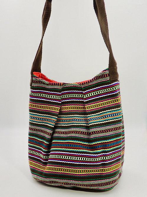 k'uk (Resplendent Quetzal) Bucket Bag (I Love You))