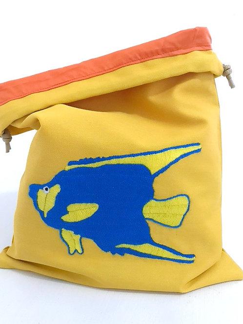 polaw (Ocean) Wet Bikini Bag-Angel Fish
