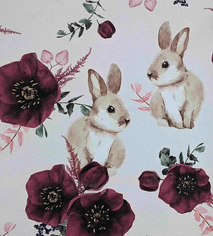 Rabbits & Flowers