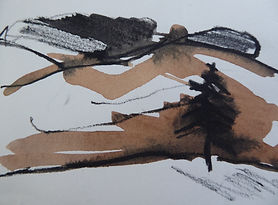 Knocktinkle Sketch - Caroline Hone
