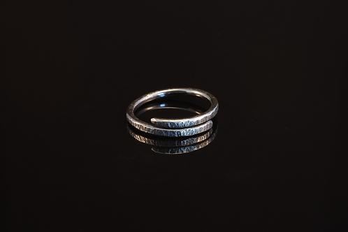 Oxidised wrap ring P  £90